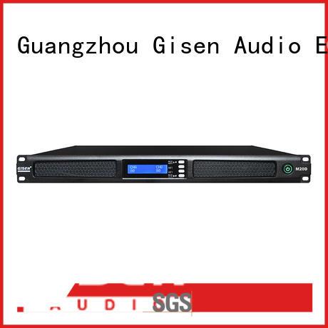Gisen new model professional power amplifier digital for performance