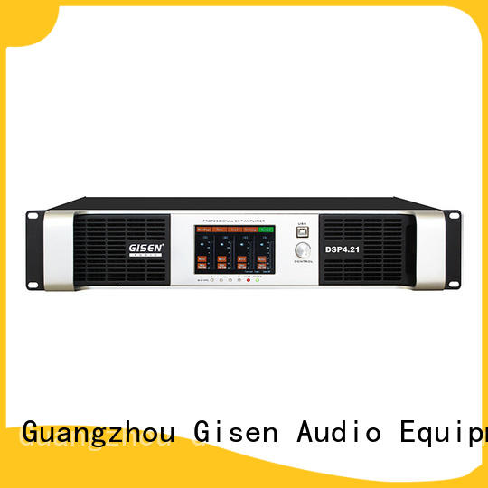 Gisen channel desktop audio amplifier wholesale for various occations