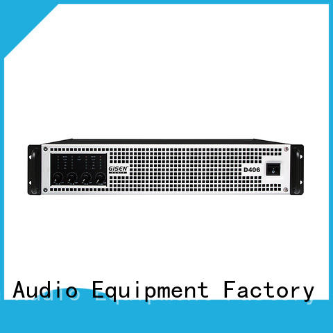 Gisen full range top 10 power amplifiers supplier for performance