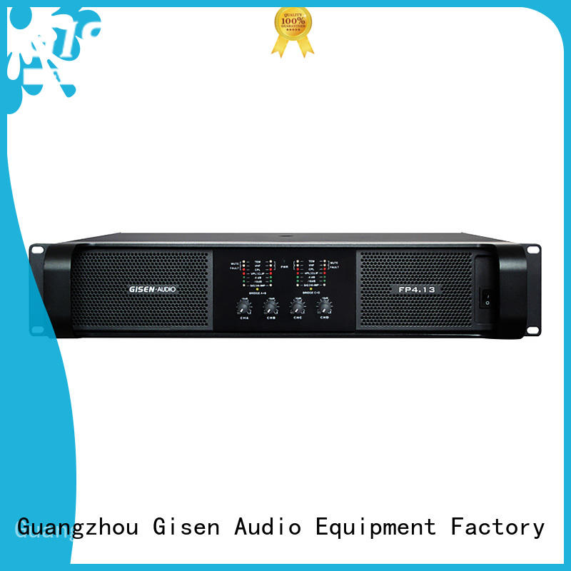 unreserved service sound power amplifier one-stop service supplier for ktv