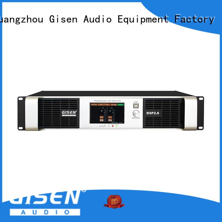 multiple functionsdirect digital amplifier 4 channel manufacturerfor venue