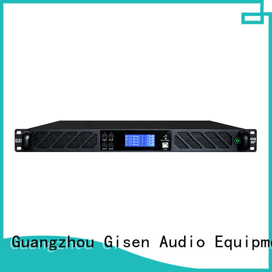 Gisen multiple functions desktop audio amplifier wholesale for performance