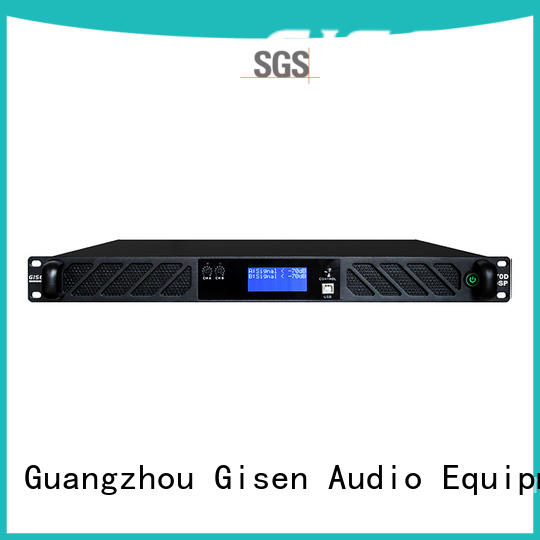 Gisen 8ohm best power amplifier in the world supplier for stage