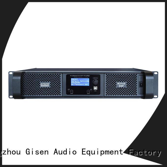 Gisen high quality desktop audio amplifier supplier for venue