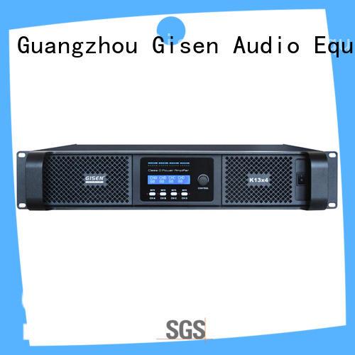 Professional power amplifier class d digital amplifier 2100WX4