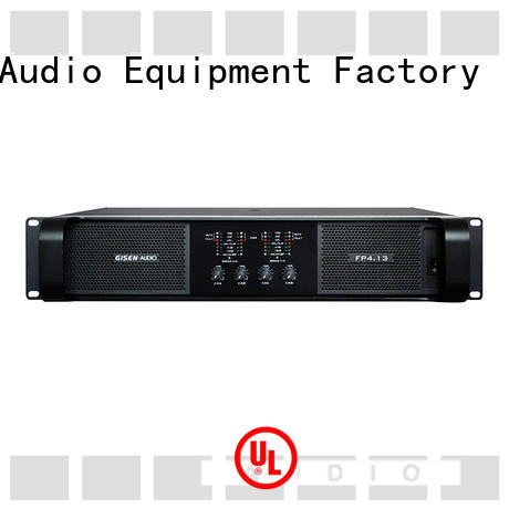 Gisen popular home audio amplifier one-stop service supplier for ktv