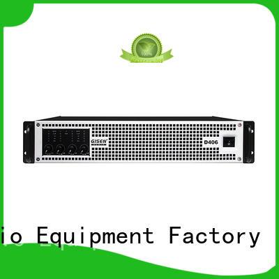 Gisen high efficiency dj amplifier 2100wx2 for ktv
