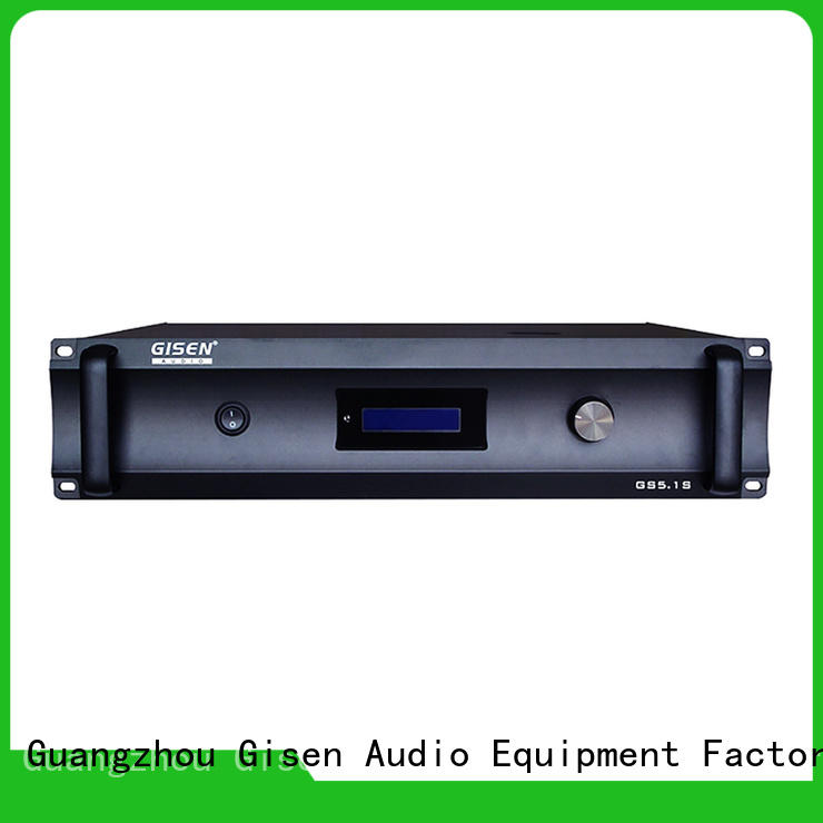 Gisen oem odm best amplifier order now for ktv