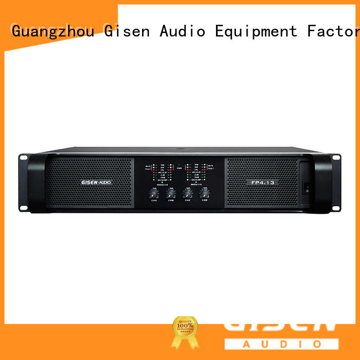 Gisen unreserved service amplifier for home speakers one-stop service supplier for vocal concert