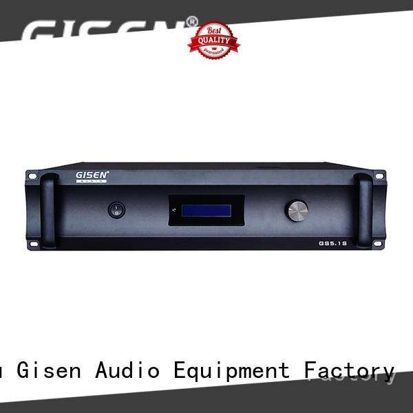 Gisen low distortion best amplifier for home great deal for home theater
