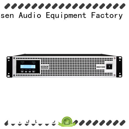 Gisen strict inspection pa amplifier overseas market for performance