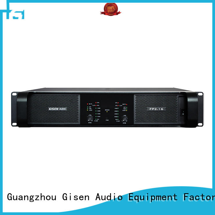 Gisen unrivalled quality sound power amplifier amplifier for vocal concert