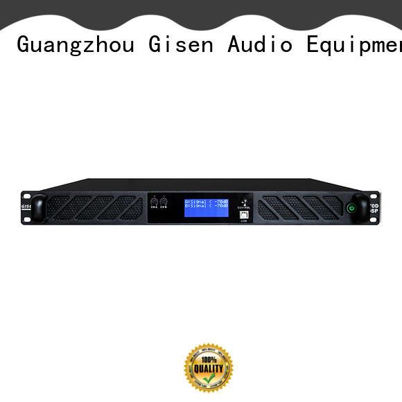 1U power amplifier with German DSP 2-channel