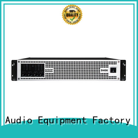 Gisen high efficiency home stereo power amplifier wholesale for performance
