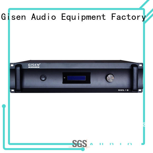 Gisen theatre integrated stereo amplifier wholesale for ktv