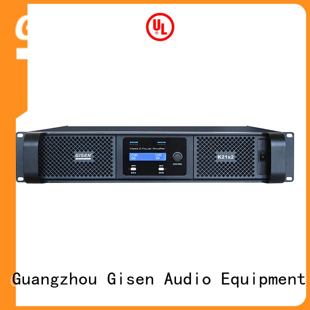 Gisen amplifier class d audio amplifier fast delivery for meeting