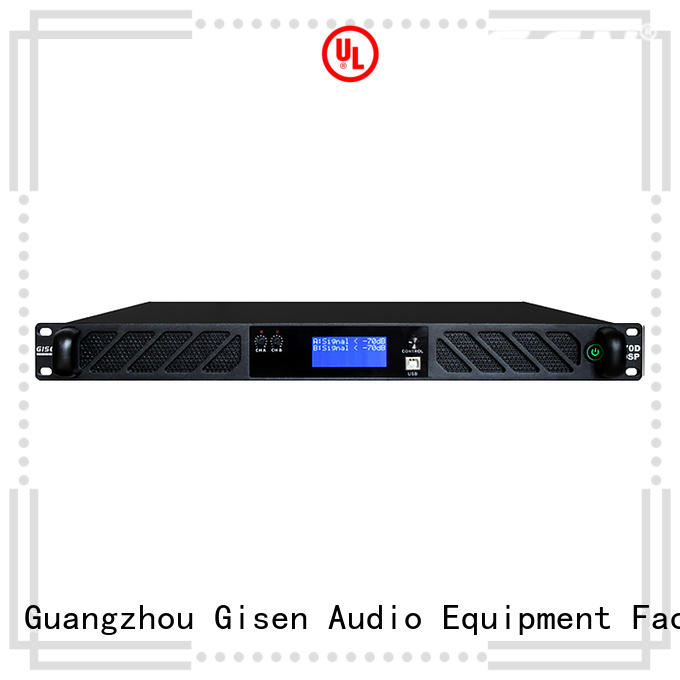 Gisen professional digital audio power amplifier wholesale for various occations