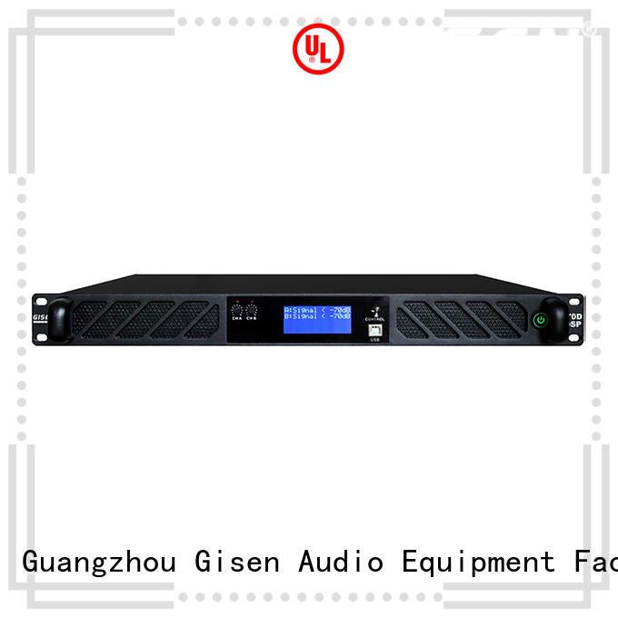 Gisen multiple functions good cheap amplifier 2100wx2