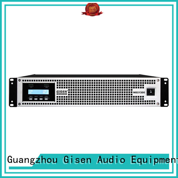 Gisen hot selling pa system amplifier crazy price for meeting