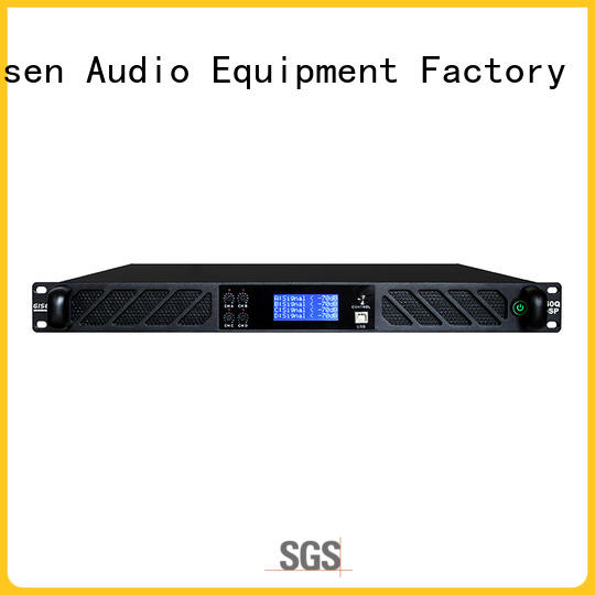 german audio amplifier pro manufacturer for stage Gisen