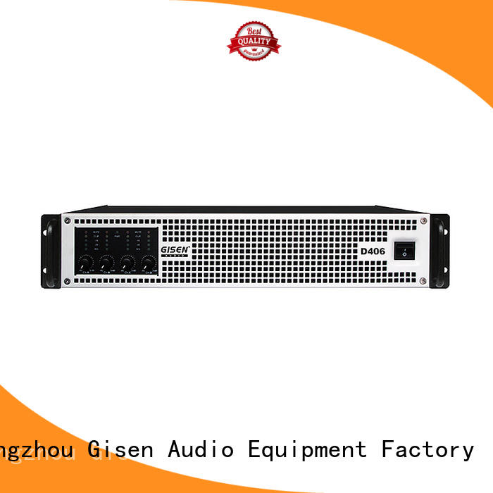 Gisen 2100wx2 class d power amplifier fast delivery for performance