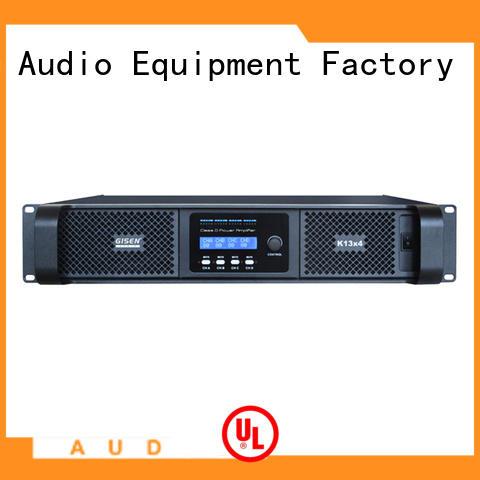 Gisen 2100wx4 digital audio amplifier manufacturer for ktv