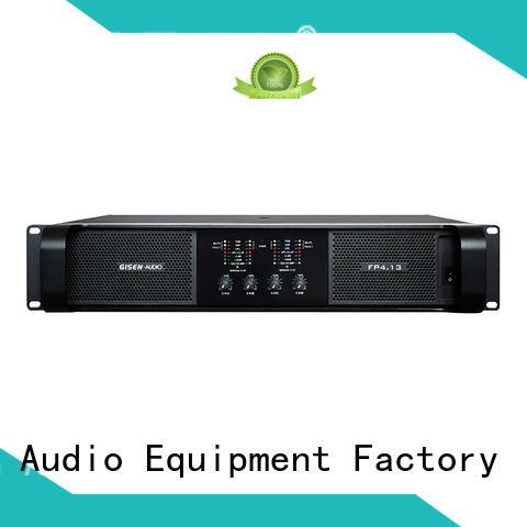 Power amplifier Class TD 4x1300W