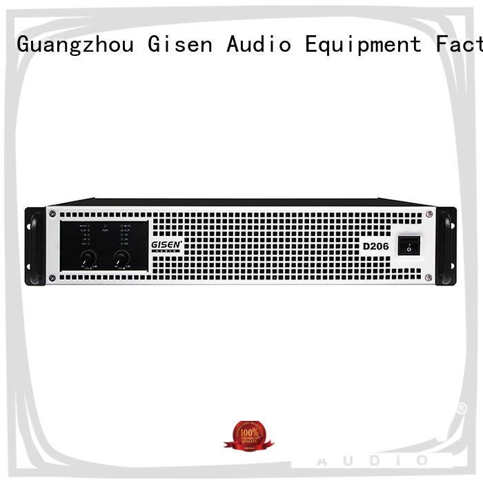 2100wx2 class d power amplifier manufacturer for ktv Gisen