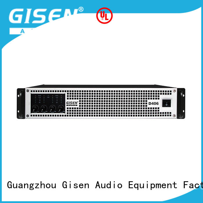 Gisen advanced sound digital amplifier fast shipping for entertaining club