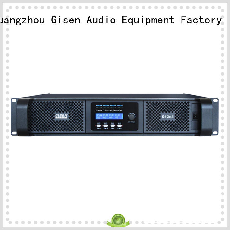 Gisen class dj amplifier fast shipping for meeting