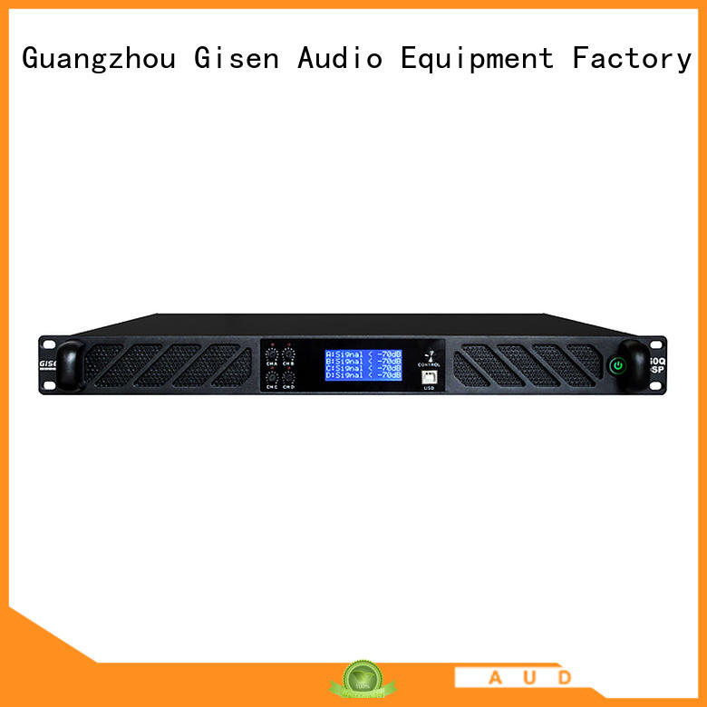 multiple functions direct digital amplifier 8ohm factory for stage