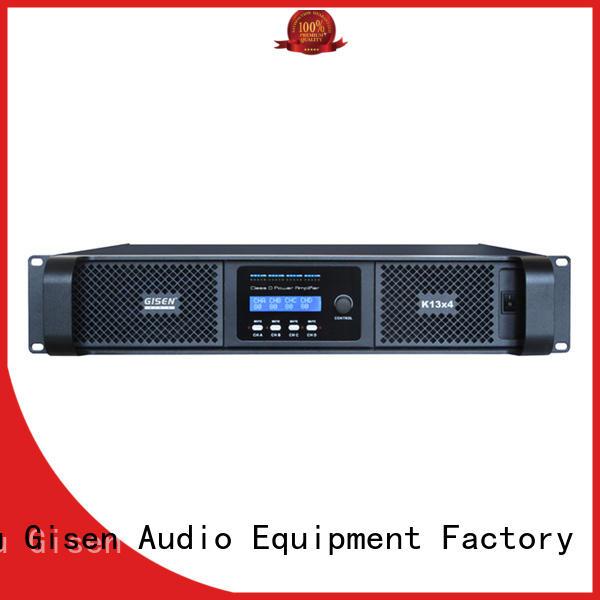Gisen guangzhou class d audio amplifier manufacturer for ktv