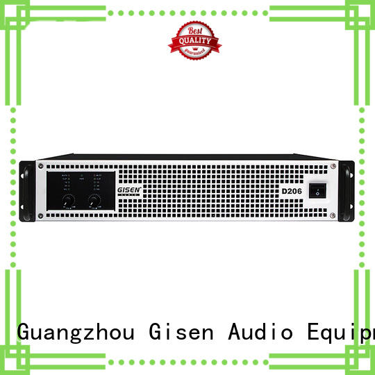 Gisen amplifier home stereo power amplifier fast delivery for meeting