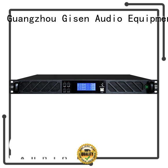 Gisen digital amplifier power supplier for stage
