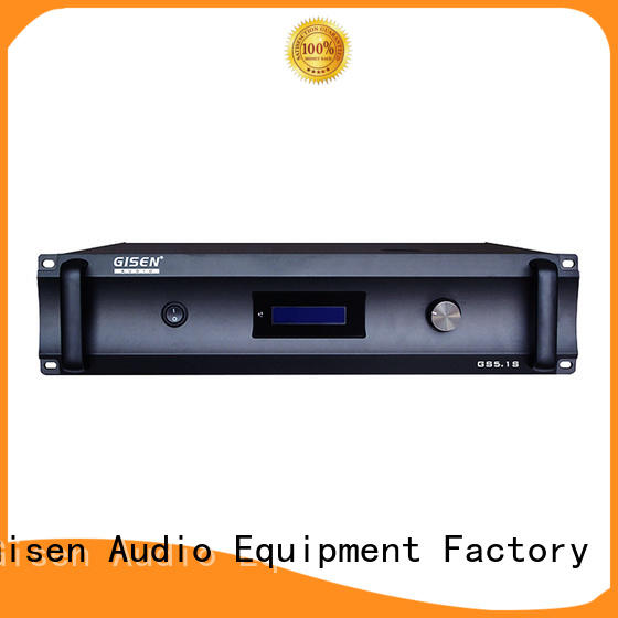 Gisen oem odm stereo power amplifier digital for ktv
