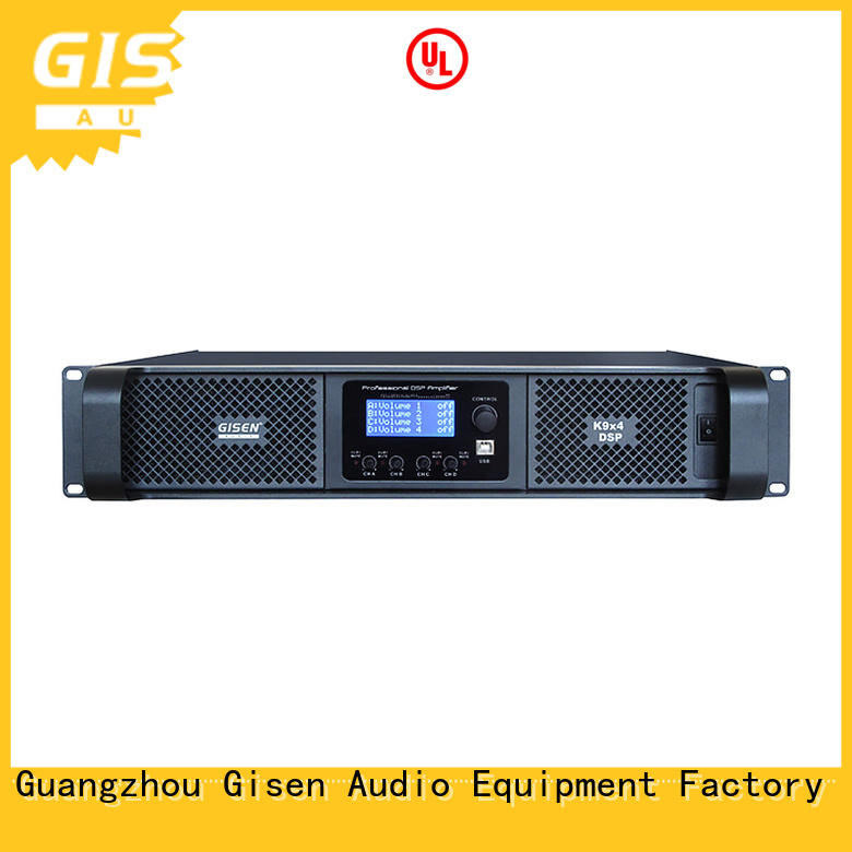 multiple functions multi channel amplifier wholesale for stage