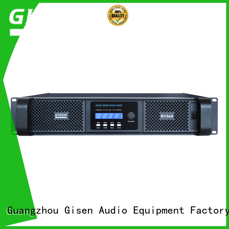 Gisen advanced hifi class d amplifier fast delivery for entertaining club