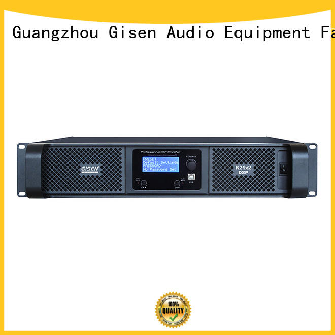 power digital audio power amplifier factory for performance Gisen
