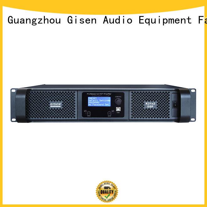 slimline amplifier 2 channel for performance Gisen