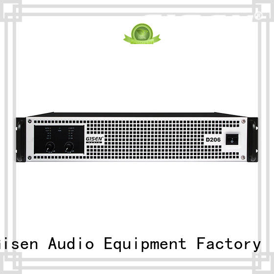 High efficiency professional power amplifier