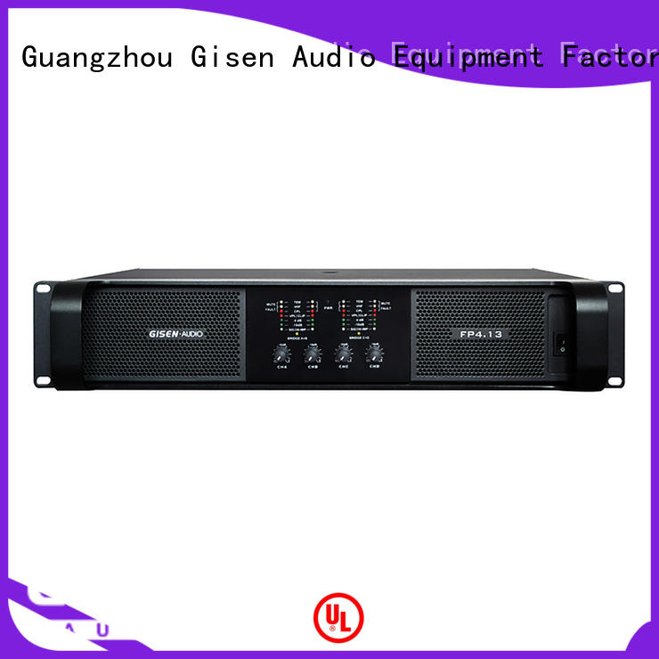 Gisen quality assurance music amplifier source now for night club
