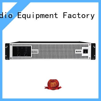 Gisen high efficiency class d audio amplifier supplier for meeting