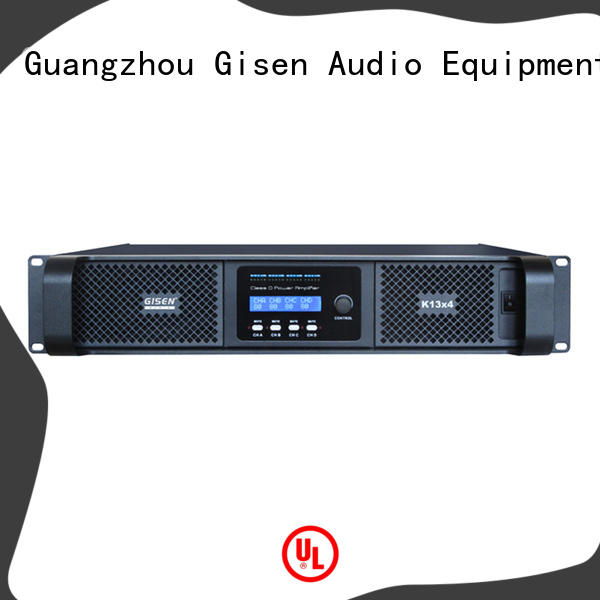 2100wx4 class d power amplifier wholesale for meeting Gisen
