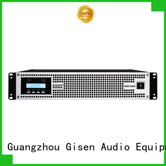 Gisen hot selling high end stereo amplifiers crazy price for stadium