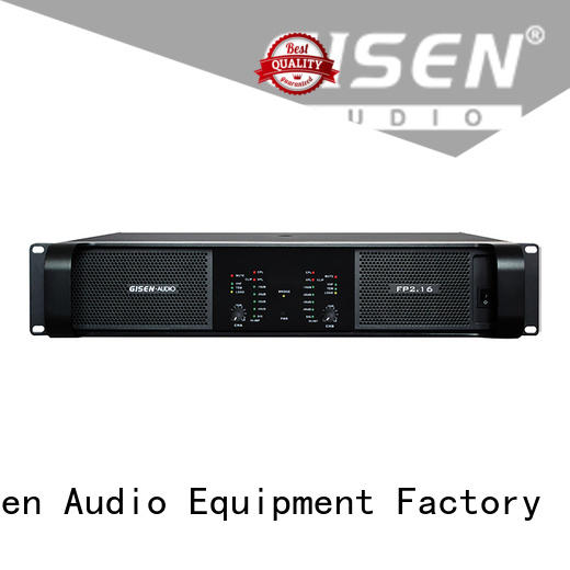 Gisen class best power amplifier source now for night club