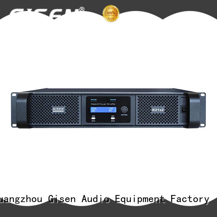 Gisen power best class d amplifier fast shipping for entertaining club