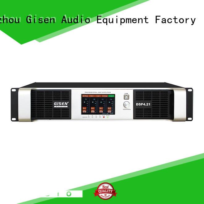 Gisen 2 channel direct digital amplifier factory