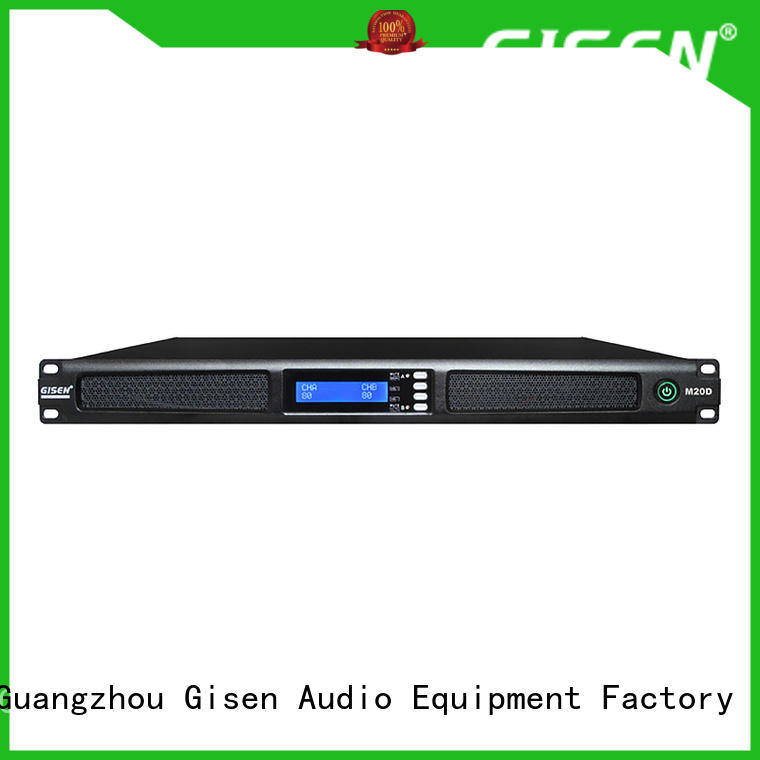 Gisen new model professional power amplifier manufacturer for entertainment club