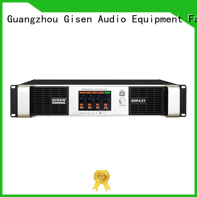 Gisen multiple functions 1u amplifier supplier for performance