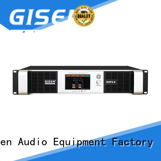 Gisen 2100wx4 multi channel amplifier wholesale for performance